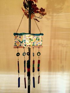 Recycled glass, multi color Wind Chimes For Sale, Recycled Glass, Recycling, Outdoor Decor, Color, Home Decor, Decoration Home, Room Decor, Colour