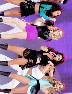 Little Mix performing at Capital FM's Summertime Ball (Jun. 6th)