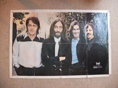 THE BEATLES FAN CLUB POSTER 1969
