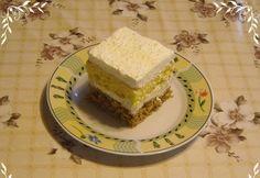 Kókuszos kocka Nikóka konyhájából Nikko, Cheesecake, Food, Cheesecakes, Essen, Meals, Yemek, Cherry Cheesecake Shooters, Eten
