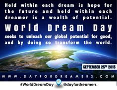 """World Dream Day Ignites """"Chain Reaction"""" For Global Good"""
