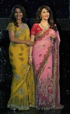 Madhuri Dixit's wax statue unveiled at Madame Tussauds Indian Celebrities, Famous Celebrities, Bollywood Celebrities, Bollywood Actress, Celebs, Madhuri Dixit, Wax Statue, Wax Museum, Indian Outfits