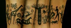 Baobab Tree of Life  Thinking Tree Tattoo JKT