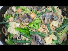 Pasta con Verduras & Pollo - YouTube