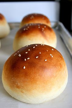Light Brioche Burger Buns