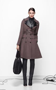 Karen Millen: Glamorous military coat