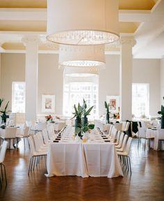 Modern Palm Springs inspired wedding