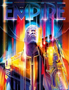 Thanos Magazine Cover Rocks