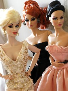 No, We are not besties with Barbie