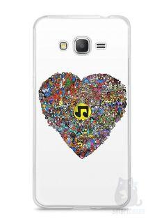 Capa Samsung Gran Prime Coração Personagens - SmartCases - Acessórios para celulares e tablets :)