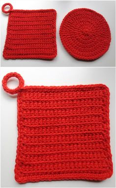 Crochet Halloween Potholder - 101 Free Crochet Patterns - Full Instructions for Beginners | 101 Crochet - Part 4
