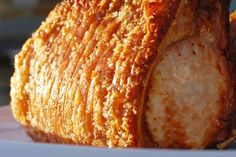 Crackling Roast Pork - Weber