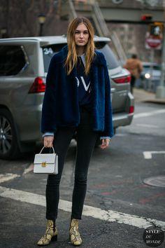 New York Fashion Week Fall 2017 Street Style: Laura Love