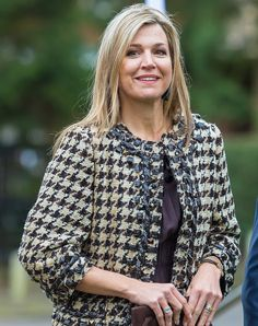 March 8, 2016 ♥•✿•QueenMaxima•✿•♥... At the Global Alliance For Banking Values meeting