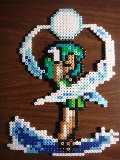 Sailor Neptune Perler Bead Art by Dbzbabe.deviantart.com on @deviantART