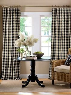 Buffalo check Country Curtains