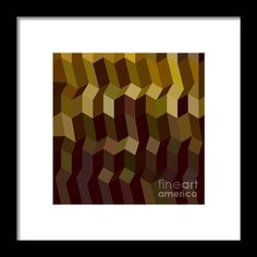 Caput Mortuum Brown Abstract Low Polygon Background Framed Print By Aloysius Patrimonio Low polygon style illustration of caput mortuum brown abstract geometric background. #illustration #CaputMortuumBrownAbstract