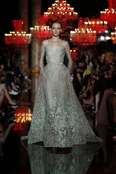 ELIE SAAB Haute Couture Fall Winter 2014-2015 perfection as usual ❤️❤️❤️