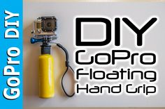 How to make a GoPro Floating Hand Grip - Float Bobber Handle - GoPro DIY #5