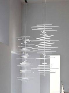 Pendant lamp RHYTHM by @VIBIA - Grupo T Diffusion | #Design Arik Levy #lamp #light #white
