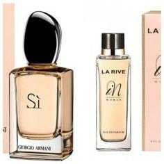 "Parfum La Rive ""In"" von Lidl als günstiges Dupe zum teuren Giorgio Armani Parfum ""Si"" http://www.combeauty.com/zeigt-her-eure-dupes.html"