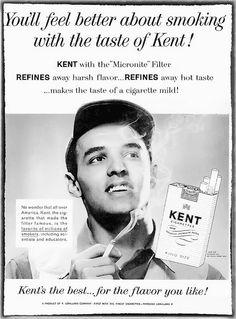 Model Hal DeWindt for Kent Cigarettes - Ebony Magazine, January, 1961 by vieilles_annonces, via Flickr