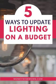 Save money on home improvement with these smart tips to update lighting on a budget. Freshen up your home with new lighting fixtures! Ways To Save Money, Money Saving Tips, Aqua Blue, Habitat Restore, Living On A Budget, Thrifty Decor, Build Your Dream Home, Visual Statements, Home Improvement Projects