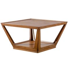 Edward Wormley for Drexel Trapezoid Coffee Table | From a unique collection of antique and modern coffee and cocktail tables at http://www.1stdibs.com/furniture/tables/coffee-tables-cocktail-tables/