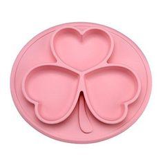 Oferta: 15.99€ Dto: -65%. Comprar Ofertas de Platos para Bebé TOPQSC Platos de Bebé de la Forma de Trébol , Antibacterianos Platos para Bebé (Rosa) barato. ¡Mira las ofertas!