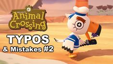 Animal Crossing - Typos and Mistakes #2 Animal Crossing, Typo, Mistakes, Disney Characters, Fictional Characters, Video Games, Animals, Videogames, Animales