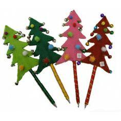 Kerstboom pen