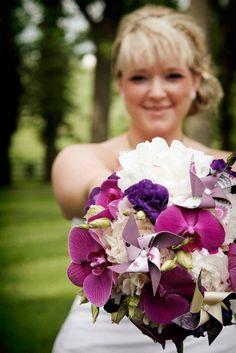 pinwheel+flower bouquet