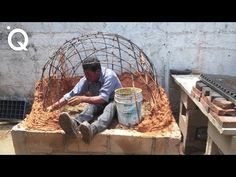 How to build a wood fired pizza/bread oven Wood Oven, Wood Fired Oven, Wood Fired Pizza, Pizza Oven Outdoor, Outdoor Cooking, Pizza Oven Fireplace, Pain Pizza, Clay Oven, Bread Oven