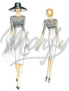 Model 3153 | Sewing Pattern Dress