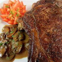 Portobello Port Sauce for Steak Allrecipes.com