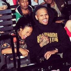 Spotted: Chris Brown girlfriend Karrueche Tran were spotted at Universal Studios.