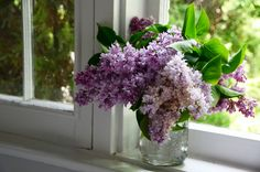 Morel Mushrooms (and lilacs).   Rose Water & Orange Blossoms.