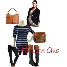 parisian chic maternity style