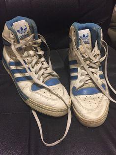 Vintage Reebok BB 4600 Ultra Hi 4 6336 White Royal Blue ... - photo #26