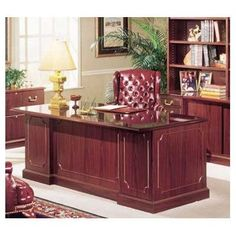 High Point Furniture Bedford 4-Piece Standard Desk Office Suite