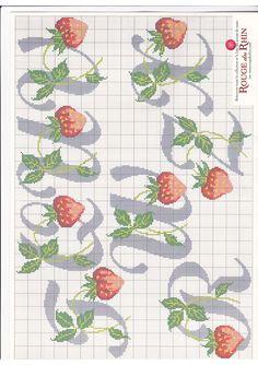 strawberry alphabet