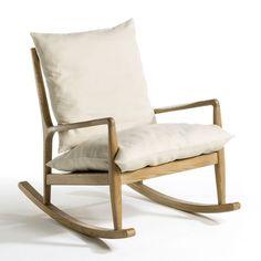 Rocking-chair toile lin, Dilma AM.PM