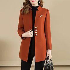 LightInTheBox - Παγκόσμιες Online Αγορές για Φορέματα, Σπίτι & Κήπος, Ηλεκτρονικά Προϊόντα, Ένδυση Γάμου Mode Outfits, Fashion Outfits, Women's Fashion, Fashion Online, Fashion Coat, Latest Fashion, Fashion Clothes, Trendy Outfits, Trendy Fashion