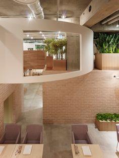 green restaurant, Sinato Architects, Tokyo