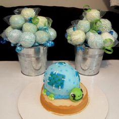 Turtle Cake/ Cake Pops