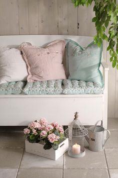 lindos colores de cojin