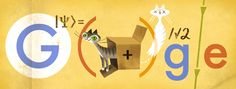 Erwin Schrödinger: the physicist who helped define quantum mechanics gets a doodle