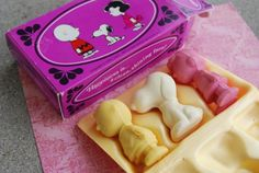 Peanuts soap - a gift from one of my sisters...