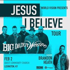 We are just a couple weeks away from this awesome experience! You won't want to miss Big Daddy Weave and Brandon Heath here at Quest! Grab your tickets today - http://questcommunity.com/events/big-daddy-weave-concert/ #questcommunitychurch #quest #community  #church #jesus #bible #mission #lexington #kentucky #questonline #love #photo #facebook #twitter