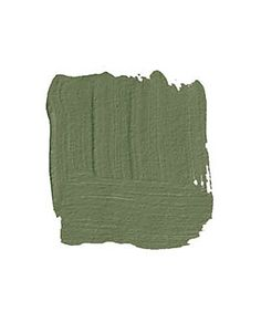 """BENJAMIN MOORE GREAT BARRINGTON GREEN HC-122: """"Most men are clueless about color. If I ask a man, 'What color is your bedroom?' he says, 'I have to ask my wife.' They stick with safe colors like blue and brown and beige. But they do like this green. It's a yellowy olive green, more contemporary than dark hunter green. I see it in a library with white woodwork and crisp linen curtains."""" -Mario Buatta"""